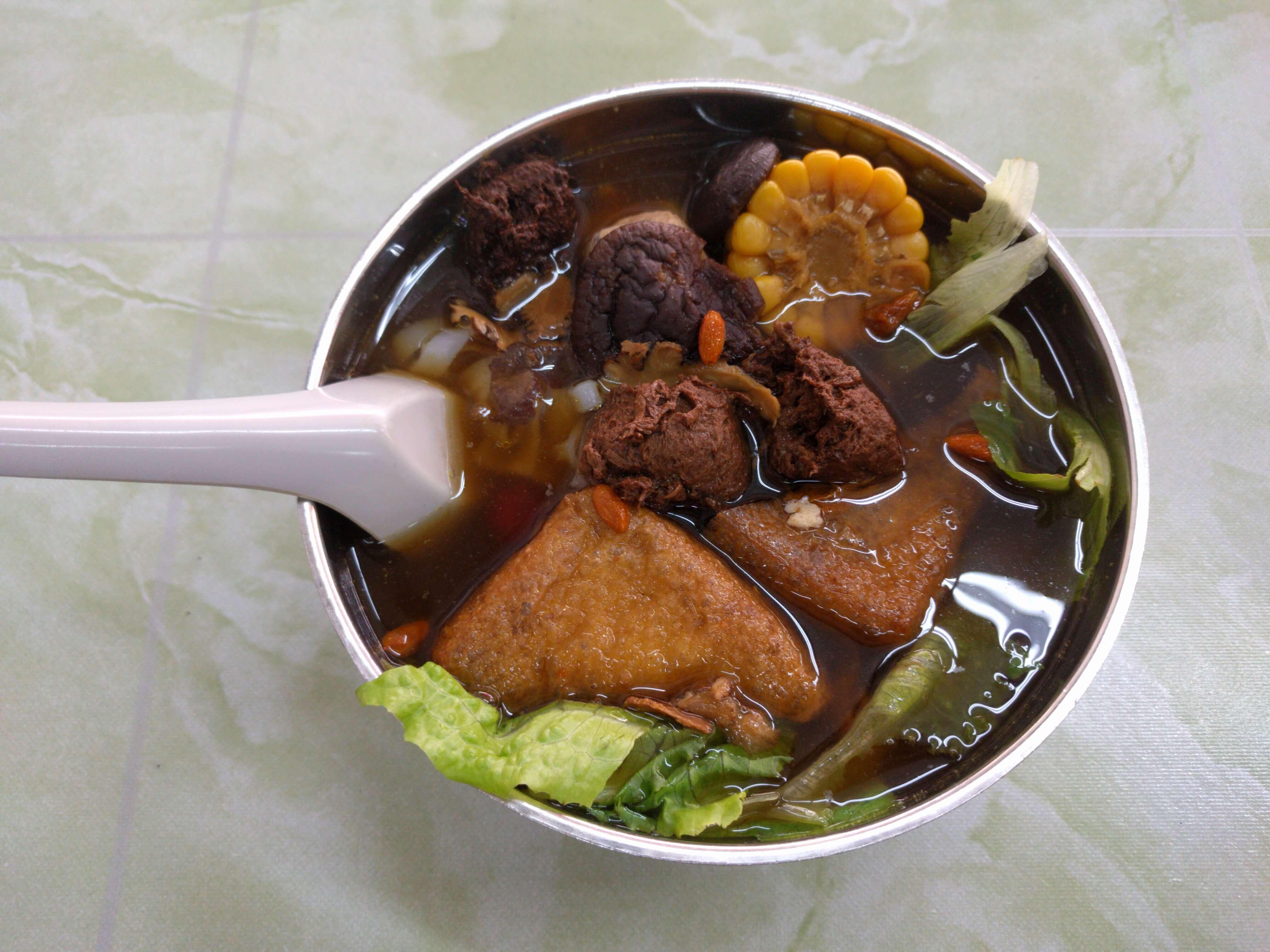 Chinese vegan food