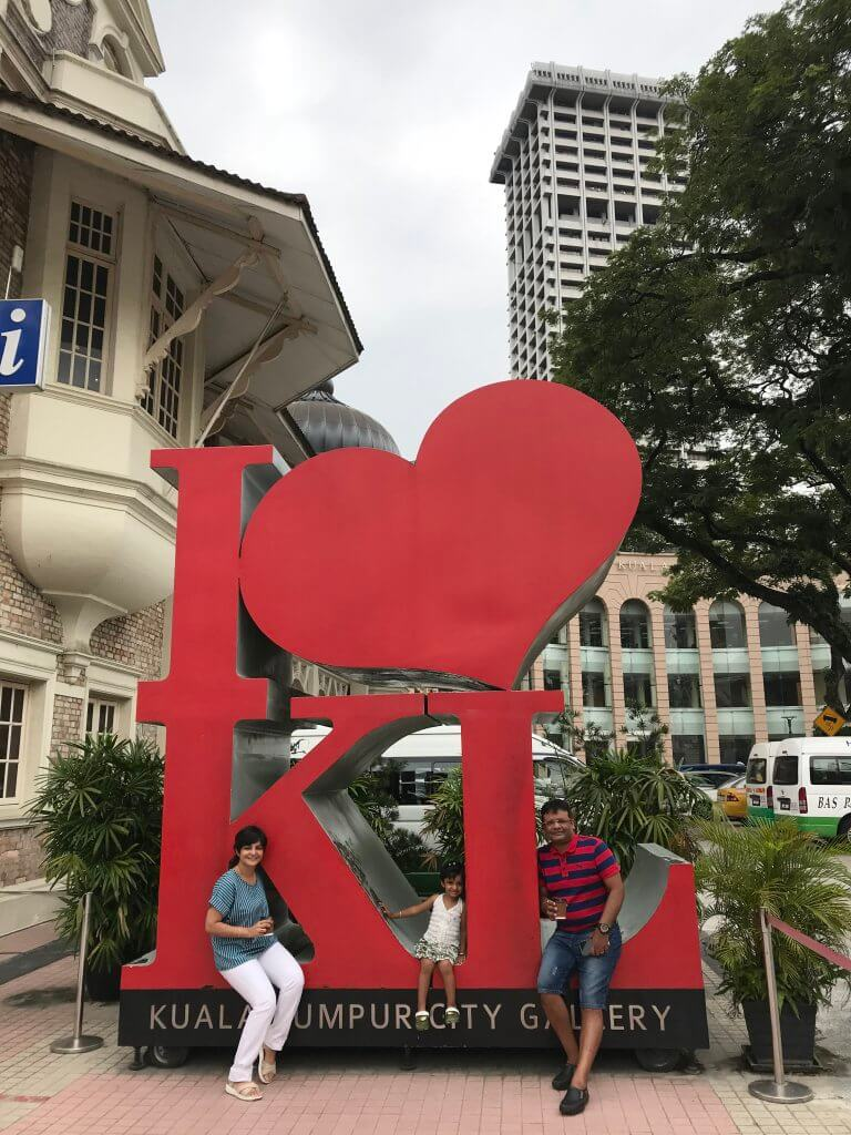 The Famous KL Symbol outside City Gallery